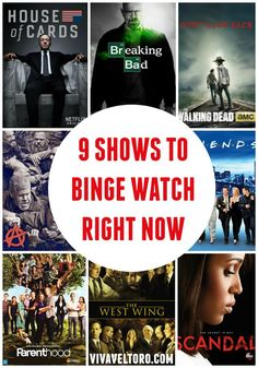 9 TV shows to binge watch right now! #streamteam