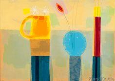 Russel Baker - Three Vases (2001)