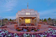 Snowflake Arizona Temple. LDS - Mormon