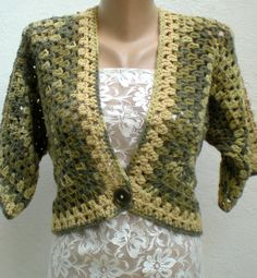 Crochet Bolero | please take a look to my profile..Thank you… | crochetbutterfly | Flickr