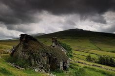 """theopaldreamcave: """"Old Welsh Ruin (by Kevin O'Brian) on Flickr. RETAIN photographer's credit (fair usage of copyrighted material)—many thanks. """""""