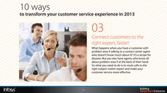 Connect customers to the right expert, faster! Customer Service Experience, What Happens When You, Connection, Shit Happens