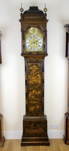 William Cannon Longcase Clock, London - The Chimes, Whaley Bridge, UK Antique Clocks, Cannon, Grandfather Clocks, Antiques, Georgian, 18th Century, Bridge, English, Home Decor
