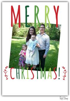 From our family to yours, we wish you a wonderful Christmas and a happy new year! We will see you again on Monday.