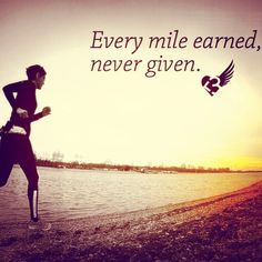 Every mile earned, never given.                                                                                                                                                                                 More