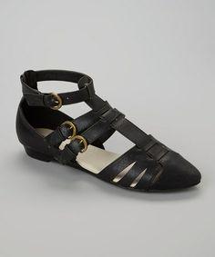Black Litta Sandal #zulily #zulilyfinds