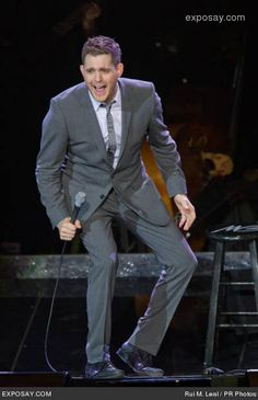 """michael buble -great entertainer.  About to mark this off the """"date night bucket list.""""    Sweet Joe! !!!!"""