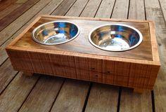 Mid sized dog bowl set $45