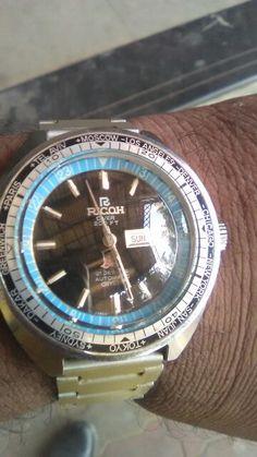 Vintage Ricoh 200FT Divers Watch