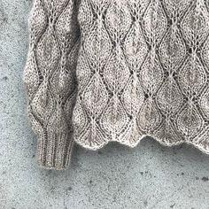 Ravelry: Olive Sweater - My Size pattern by Pernille Larsen Sweater Knitting Patterns, Lace Knitting, Knitting Designs, Knitting Projects, Knit Sweaters, Ravelry, Crochet Patron, Knit Crochet, Lace Patterns