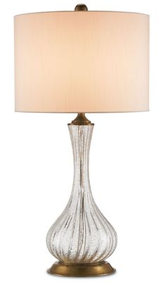 "View the Currey and Company 6783 Lucille 1 Light 30"" High Table Lamp at LightingDirect.com."