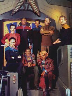 Star Trek Deep Space Nine | Star Trek: Deep Space Nine DS9 Crew