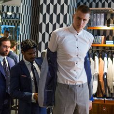 Suit game: New York Knicks Kristaps Porzingis visits our NY Madison Avenue store ahead of his game against the Toronto Raptors tonight. Find out more about our Tailoring services.