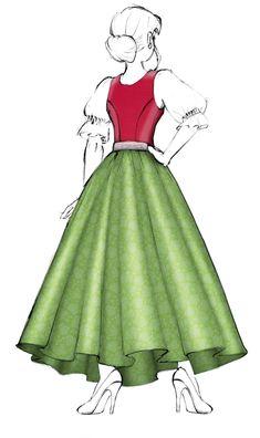 Models, Vintage Crochet, Lotus, Steampunk, Folk, Feminine, Costumes, Traditional, How To Wear