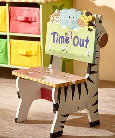 Look at this #zulilyfind! Fantasy Fields Sunny Safari 'Time Out' Chair #zulilyfinds