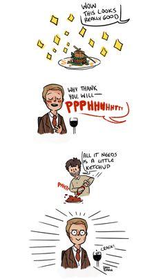 NBC's Hannibal fanart. I'M DYING.<---lmao!