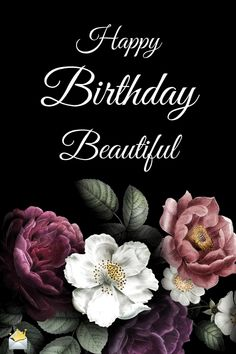 Happy Birthday Beautiful Message for Her A happy birthday meme for a beautiful lady. The post Happy Birthday Beautiful Message for Her & Birthdays appeared first on Happy birthday . Birthday Wishes Flowers, Beautiful Birthday Wishes, Happy Birthday Wishes Quotes, Happy Birthday Celebration, Birthday Blessings, Happy Birthday Pictures, Best Birthday Wishes, Happy Birthday Greetings, Funny Birthday