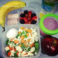 Blog with healthy lunch ideas