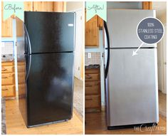 Before You Rush Out To Replace A Well Working Fridge Just For The Aesthetic Value Stainless Steel Paintstainless