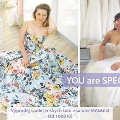 Neuvěřitelný výprodej společenských šatů v Svatebním salone MAGGIE! 💜http://www.1-svatebni-saty.cz/spolecenske-saty/ 💜 #spolecenskesaty #vyprodej #svatba_maggie #svatba #coctaildress #wedding