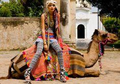 This only makes sense in the fashion realm. Carolina K. @Maïalène Wilkins McDonald via Nina Garcia
