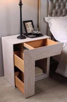 Antique Silver Wood Nightstand Oak wood Special measures This piece of furniture can be made in spec Wood Furniture, Bedroom Furniture, Furniture Design, Furniture Vintage, Furniture Plans, Furniture Makers, Reclaimed Furniture, Cardboard Furniture, Space Saving Furniture