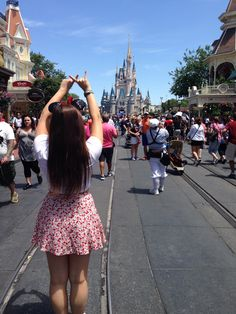 Alpha xi delta Throw what you know Disney world Cinderella's castle magic kingdom