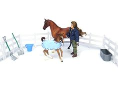 Breyer New Arrival At The Barn -- This is an Amazon Affiliate link. Learn more by visiting the image link.