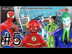 #5 Lego City Delegacia de Polícia:  Homem Aranha Coringa Charada Arqueir... #homemaranha #aranha #spider #spiderman #eterparker #avengers #vingadores #toys #toys #おもちゃ #barbie #dolls #doll #kids #kids  #puppet #babyalive #lego #imaginext #marvel #DC #Comics #escola #school #educação #education #kid #kids #lol