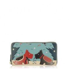 20d92c5dc5b Under The Mistletoe, Large Zip Matinée #largezippurse Radley Bags, Clutch  Bag, Purse
