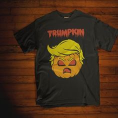 Trumpkin! 🎃🎃  .  20% off everything!  .  .  #halloween #halloweenready #spooky #nightout #party #spookycute #womensclothing #womentshirt #halloweenparty #readytoparty #allhallowseve #trickortreat #discount #trumpkin #trumpmemes #funnytrump #pumpkin #funnypumpkin  #funny #funnyshirt #greenturtle #greenturtletshirts #cute #etsy #etsystore #tagsforlikes #followforfollow #follow4follow #like4like #likeforlike