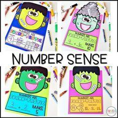 Place Value and Number Sense Frankenstein