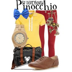 """Pinocchio"" by lalakay on Polyvore"
