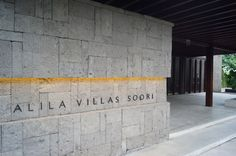 Alila Villas Soori: Where The Broken Heart Goes - Entrance Gate - Pylon Signage, Entrance Signage, Outdoor Signage, Wayfinding Signage, Entrance Gates, Signage Design, Exterior Signage, Front Gate Design, Entrance Design