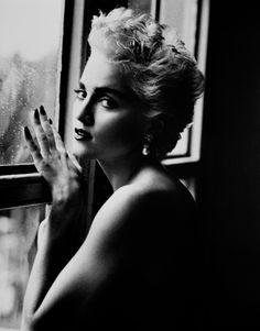 Madonna - Joe McKenna stylist/ Herb Ritts photo - Vanity Fair December 1986
