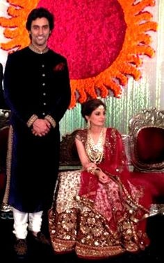 Photos: Inside @KapoorKunal  and Naina Bachchan's grand wedding reception, April 12, 2015