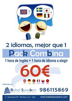 No esperes más, si necesitas dos idiomas, anótate ya BSpk'S (idiomas&conocimiento)