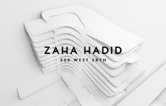 "Check out this @Behance project: ""Zaha Hadid – 520 W 28th"" https://www.behance.net/gallery/37295419/Zaha-Hadid-520-W-28th"
