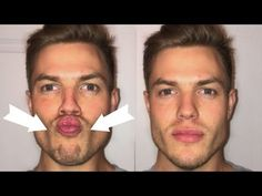 Jawline Men, Good Jawline, Chiseled Jawline, Facial Exercises For Men, Jaw Exercises, Gym Workout Videos, Gym Workout For Beginners, Define Face, Guys Grooming