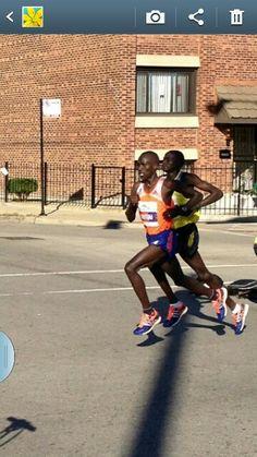 Elite male Runners 2013 Chicago Marathon