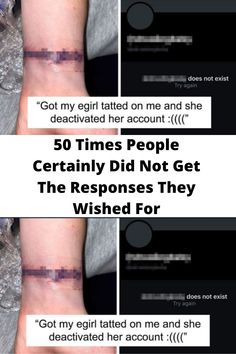 50 Times #People Certainly Did Not #Get The #Responses They Wished For