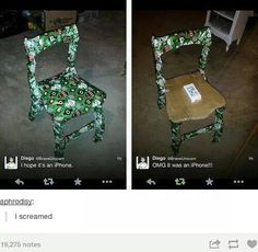 Hope it's an iPhone Hahah wtf | funny, hilarious tumblr post