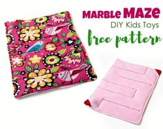Fabric Marble Maze - Kids Toys (FREE) | Craftsy