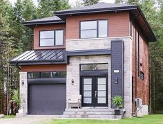 Compact Two-Story Contemporary House Plan - 80784PM thumb - 01