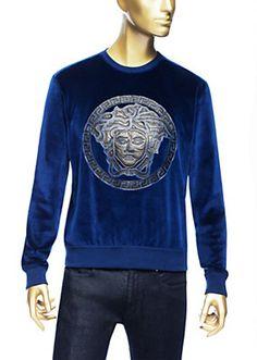 Versace - Chenille Medusa sweater