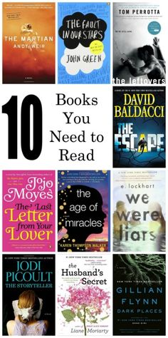 10 books you need to read