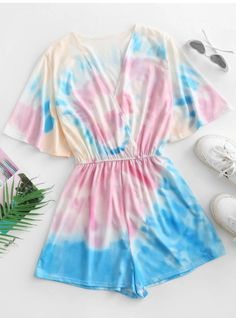 Girls Fashion Clothes, Kids Outfits Girls, Teen Fashion Outfits, Girl Fashion, Girl Outfits, Clothes For Women, Style Fashion, Tie Dye Outfits, Crop Top Outfits