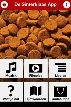 Dat is een handige App! De Sinterklaas App. Voor liedjes, rijmwoorden en nog veel meer. #Sinterklaas