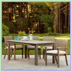 narrow patio dining table-#narrow #patio #dining #table Please Click Link To Find More Reference,,, ENJOY!! Wicker Coffee Table, Wooden Dining Tables, Outdoor Dining Set, Outdoor Tables, Outdoor Decor, Patio Dining, Patio Tables, Diy Furniture Easy, Dining Furniture