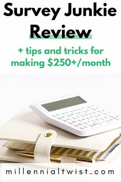Do you want to make extra money in your spare time? Then you should try surveys. Here is my Survey Junkie review and 3 tips and tricks to make $500+ a month, every month! #survey #makemoneyonline #surveyjunkie #makemoneywithsurveys #sidehustle Make Money From Home, Way To Make Money, Make Money Online, Survey Websites, Surveys For Money, What To Sell, Making Extra Cash, Money Management, Money Tips
